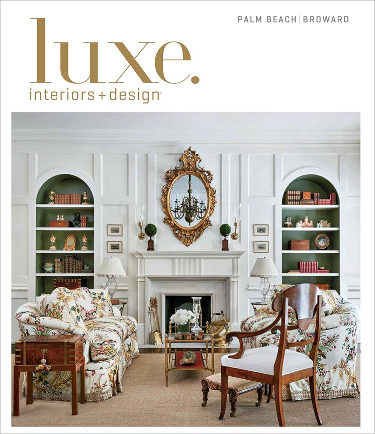 Palm Beach Interior Design Cover Feature - Brantley ...